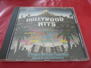 CD-Hollywood-Hits-Disc-Three-Silver-Eagle-Records-1987-The-Rose-Miami-Vice