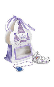Fancy-Dress-Accessory-Disney-Sofia-The-First-Satin-Bag-With-Tiara-amp-Amulet