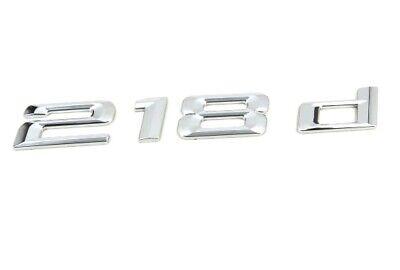 Genuino Nuevo BMW 218d Trasero insignia emblema de arranque serie 2 Active Tourer F45 2013+