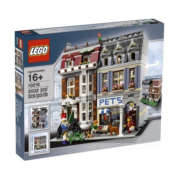 Lego Creator Pet Shop 10218 Nuovo In Factory Sealed Box-Very Hard To Find