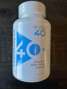 Beyond 40- Lean Belly 3x, Advanced Formula Exp 1/2023! 120 Softgels- BIG BOTTLE!