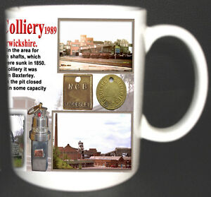 BADDESLEY-COLLIERY-COAL-MINE-MUG-LIMITED-EDITION-GIFT-MINERS-WARWICKSHIRE-PIT
