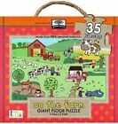 Green Start on The Farm Giant Floor Puzzle by Jillian Phillips 9781601690005