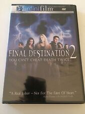 Final Destination 2 DVD You Can't Cheat Death Twice New Sealed