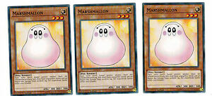 3-x-Marshmallon-ys17-de015-Common-Playset-Link-Strike-MINT