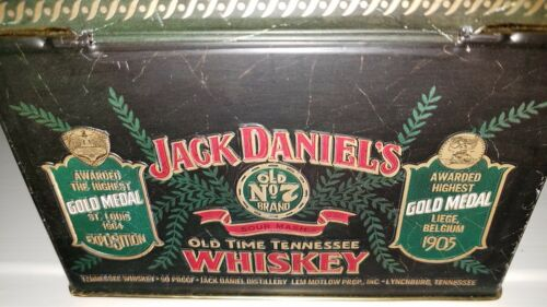 Wallis Jack Daniels Tin and Manners NOS. Manufactured by Barringer
