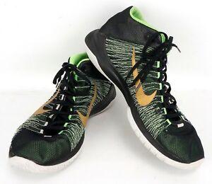 finest selection 7d51d f1583 Image is loading 2016-Nike-Zoom-Ascension-Black-Green-Gold-832234-