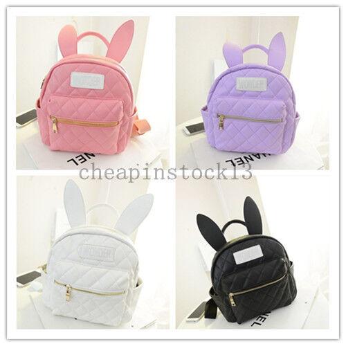 BUNNY EARS backpack wonderland rabbit cute harajuku small Daily school bag mini