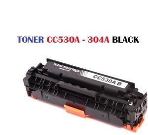 CARTUCCIA-TONER-PER-STAMPANTE-HP-COLORJET-CP2020-CP2025-CM2320-CC530A-304A-NERO