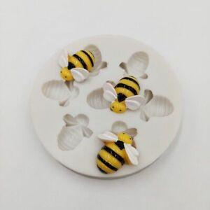 Little-Bee-Silicone-Mold-Fondant-DIY-Cake-Decor-Tool-Chocolate-Sugar-Craft-Tool