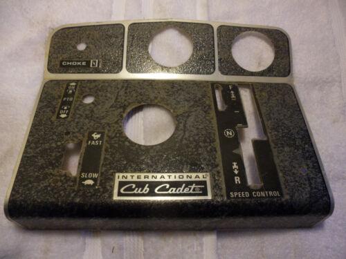Cub Cadet Quietline 1250 1450 1650 NOS Aluminum Dash Tin Instrument Panel Cover