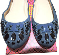 ef60da35334a item 4 Tory Burch Delphine Navy Suede Crystals Embellished Ballerina Shoe  Ballet Flat 7 -Tory Burch Delphine Navy Suede Crystals Embellished  Ballerina Shoe ...