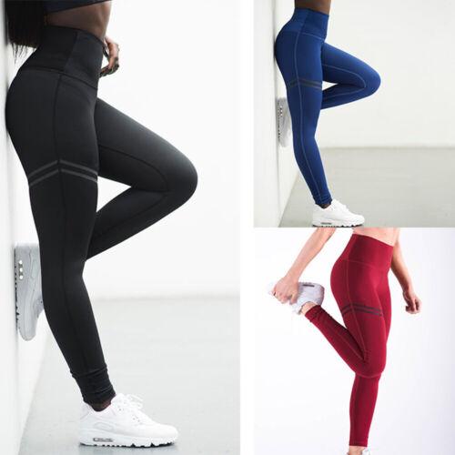 High Waist Anti-Cellulite Compression Slim Leggings for Tummy Control Running