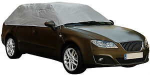 Sumex-Waterproof-amp-Breathable-Weather-Frost-Protection-Car-Half-Top-Cover-Small
