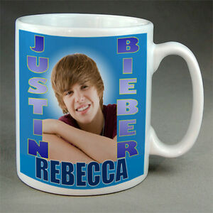 JUSTIN-BIEBER-PERSONALISED-BIRTHDAY-MUG-ANY-NAME-NEW