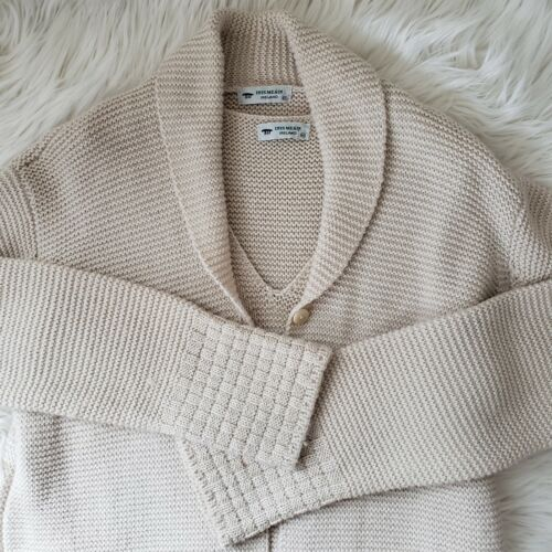 Inis Meain Alpaca Size M Cardigan Sweater Vest Set