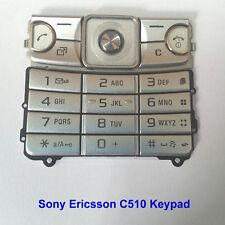100% Genuine Sony Ericsson C510 C510i Mobile Phone Keypad Fascia Housing -Silver