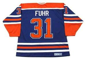 3feda5f39 Image is loading GRANT-FUHR-Edmonton-Oilers-1987-CCM-Vintage-Throwback-