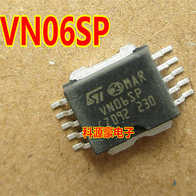 2 x VN06SP HIGH SIDE SMART POWER SOLID STATE RELAY STM Power SO-10 2pcs