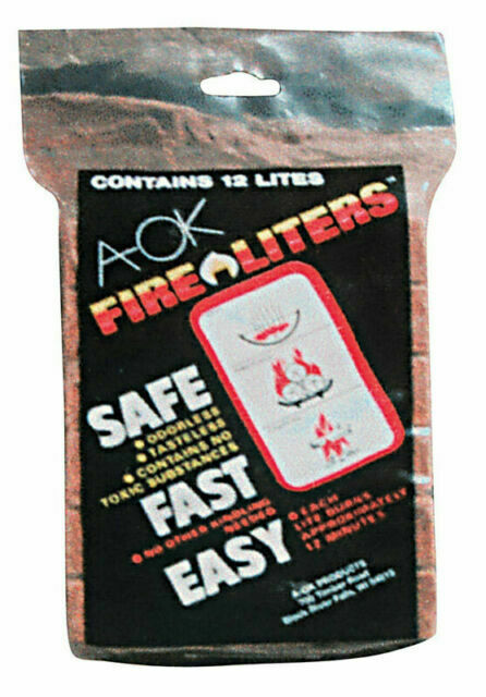 Fire Liters 00101 Fire Starter Cubes 12 Lites for sale online