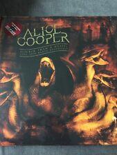 ALICE COOPER 'SLICKER THAN A WEASEL LIVE 1978 RADIO BROADCAST RED 2 LP VINYL NEW