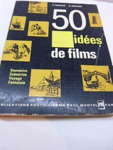 SincèRe 50 Idées De Films, P.monier , S.monnier ( Cpl12) Haute Qualité Et Bas Frais GéNéRaux