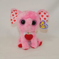 item 2 Ty Beanie Boos Tender Pink Elephant Plush Stuffed Animal Toy 2012  Valentines -Ty Beanie Boos Tender Pink Elephant Plush Stuffed Animal Toy  2012 ... eb36d2bf13d1