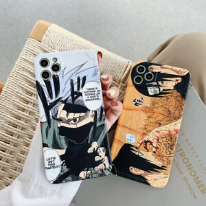 Cartoons Anime Hatake Kakashi Uchiha Itachi Phone Case For iPhone 11 12 Pro Max