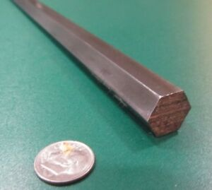 """1215 Carbon Steel Hex Rod 9//16/"""" Hex x 1 Foot Length 3 Units"""