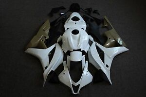 Fairing-Fit-for-HONDA-CBR-600RR-2007-2008-Unpainted-Injection-ABS-Plastic-Kit