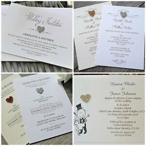 10-persoanlised-wedding-invitations-evening-invites-20-glitter-heart-colours