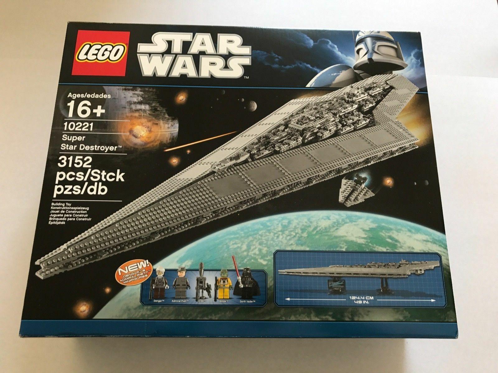 LEGO 10221 estrella guerras   Super estrella Destroyer - UCS  NEUF    controlla il più economico