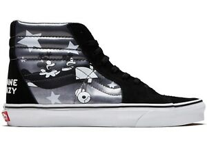 Détails sur VANS X Disney Authentic Mickey Mouse SK8 HI Plane Crazy Vans UK 9.5 Chaussures afficher le titre d'origine