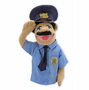 POLICE-OFFICER-PUPPET-Free-Shipping-in-USA-Melissa-amp-and-Doug-2551