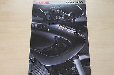 Car & Truck Manuals Yamaha Tdm 850 Prospekt 2000 Sales Brochures 165618