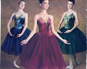 NEW-BALLET-COSTUME-Rhinestone-Brooch-Gilded-Gold-Princess-seam-Bodice-Clear