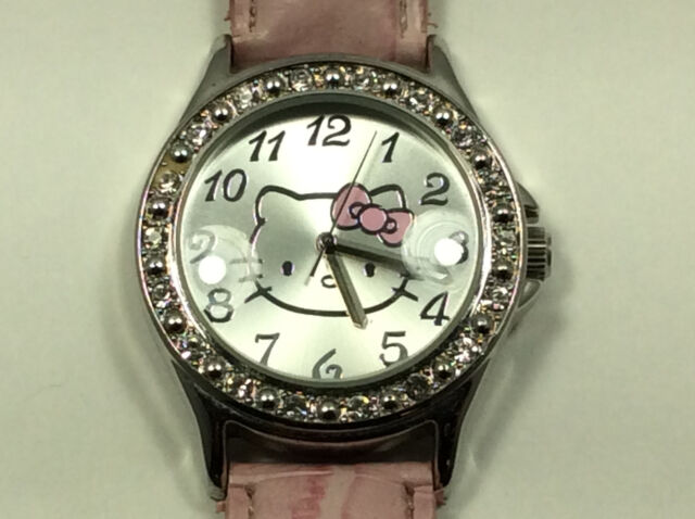439b75b01 Women's Gemmed Hello Kitty Licensed Sanrio Watch. Lower 1 Year for ...