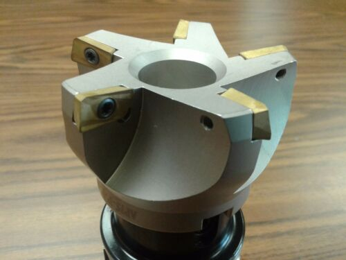"APKT #506-75AP-30 3/"" 75 degree indexable face shell mill,milling cutter BT40"