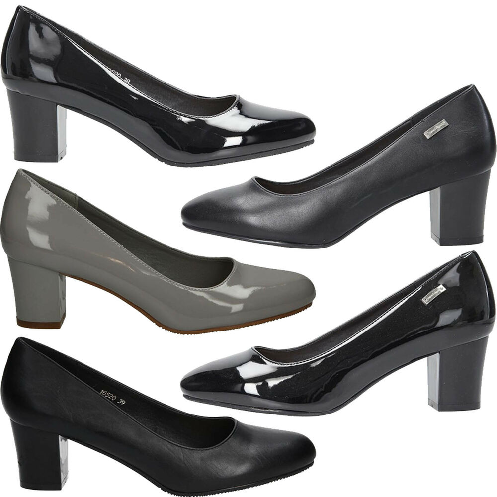 100% Vrai Chaussures Femmes Escarpins Sergio Leone Pantoufles Talon Bloc Élégant à La Mode Taille 36-41 Neuf De Bons Compagnons Pour Les Enfants Comme Pour Les Adultes