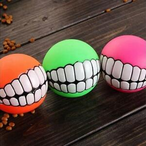 1x-Pet-Dog-Sound-Ball-Puppy-Squeaky-Chew-Teeth-Toy-Squeaker-Ball-Funny-Play-Toys