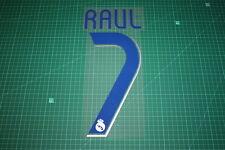Real Madrid 06/07 #7 RAUL Homekit Nameset Printing