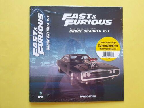Fast /& Furious   Bauen Sie den legendären Doge Charger R//T  Sammel-Mappe