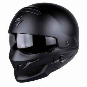 Scorpion-EXO-Combat-Convertible-Motorcycle-Helmet-Matt-Black