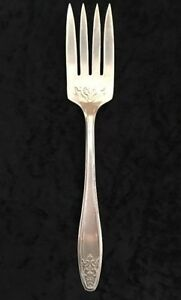 International-Silver-Lady-Doris-Silverplate-Cold-Meat-Serving-Fork-8-1-4-034