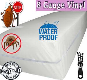 Venice 174 Superior Heavy 8 Gauge Vinyl Zippered Mattress