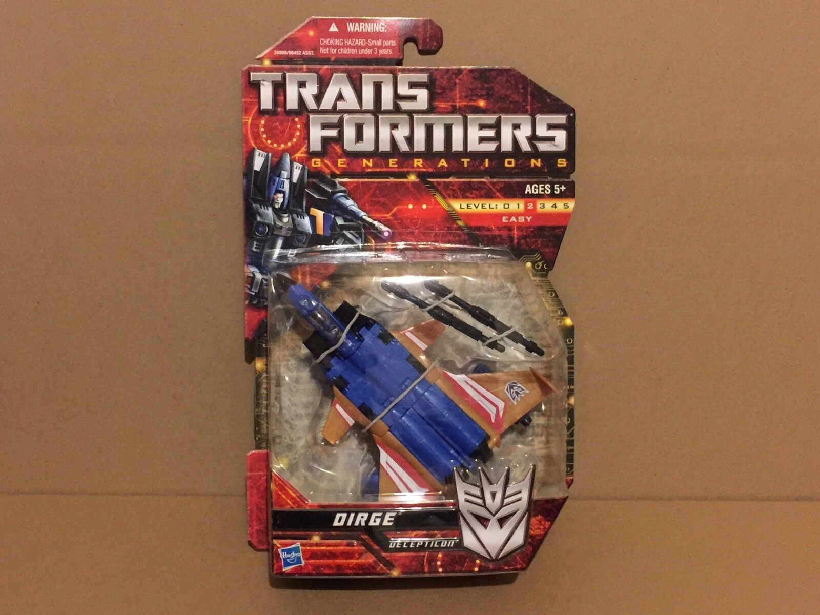 BRAND NEW TRANSFORMERS GENERATIONS DIRGE DELUXE HASBRO FACTORY Sealed MSOC