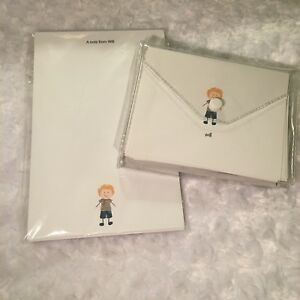 Details about Thirty One Gifts Note Cards Pad Blank Little Boy