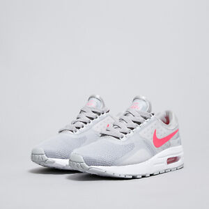 Details about NIKE sz 7 Y AIR MAX Zero Essential Running Shoes NEW 881229 003 Grey Pink