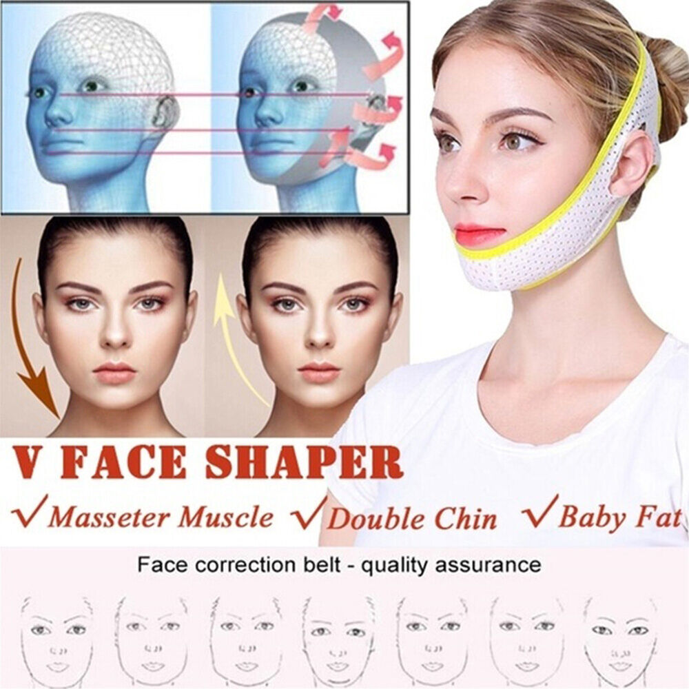 V Face Lift Up Mask Slimming Cheek Chin Neck Thin Belt Strap Bandage Shaper NICE Health & Beauty