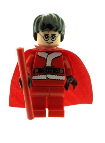 LEGO Harry Potter Minifig in Santa Christmas Outfit NEW Xmas